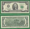 Банкнота 2 доллара 2003а США