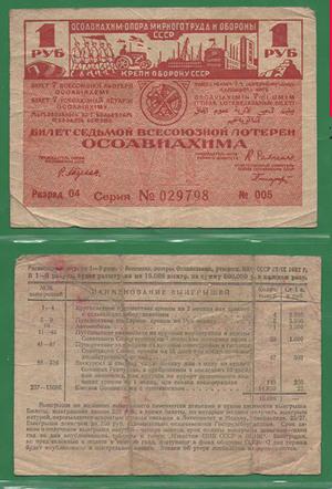 1 рубль 1932 Осоавиахим СССР
