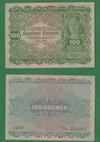 100 крон 1922 Австрия