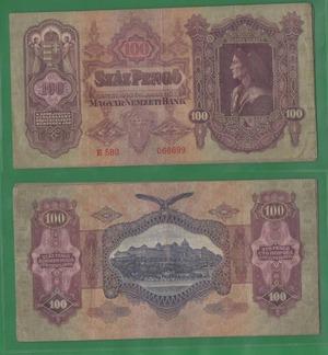 100 пенго 1930 Венгрия