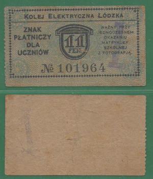 11 пфеннигов 1916 Русская Польша