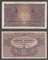 10 крон 1927 Чехословакия