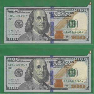 Пара 100 долларов 2009 США