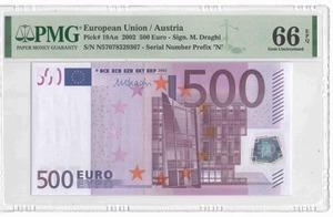 500 евро 2002 Австрия