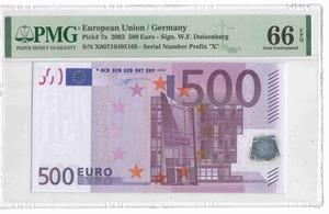 500 евро 2002 Германия